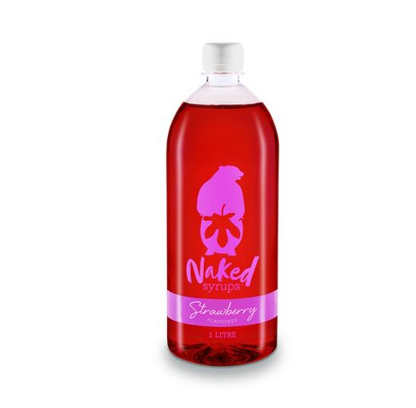 Buy Naked Syrups Strawberry Flavouring 1 LTR Online