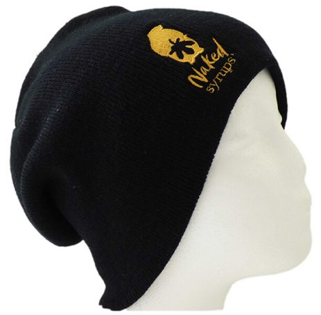 Buy Naked Syrups Black Beanie Online