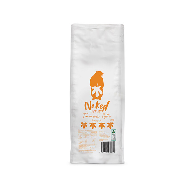 Buy Naked Syrups Turmeric Latte Powder Of 500 Gms Online