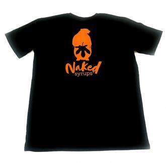 Buy Naked Syrups Black T-shirt Online