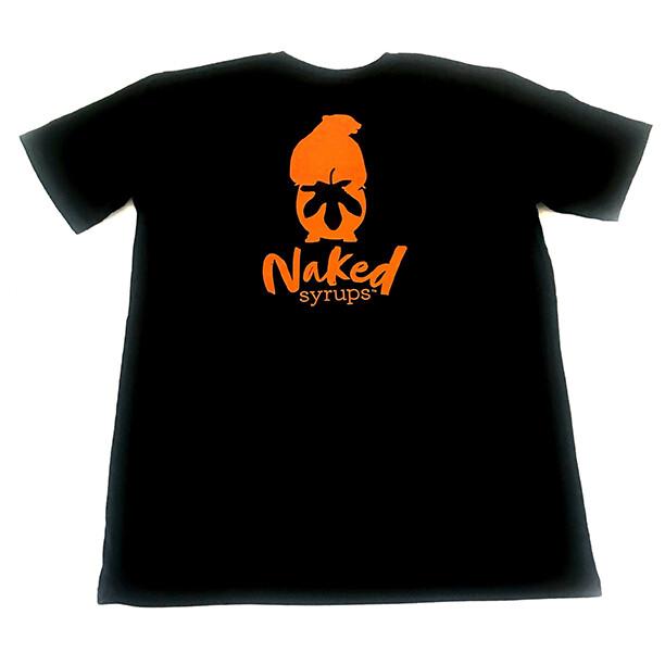 Buy Naked Syrups Black T-shirt Online