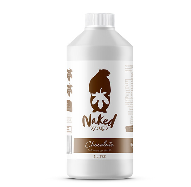 Buy Naked Syrups Chocolate Flavoured Dessert Sauce 1LTR Online