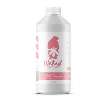 Buy Naked Syrups Wild Strawberry Flavoured Dessert Sauce of 1 Ltr Online