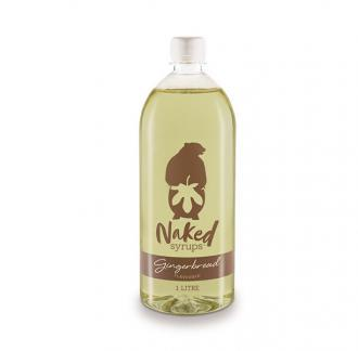 Buy Gingerbread Flavouring Syrup 1 LTR Online - Naked Syrup