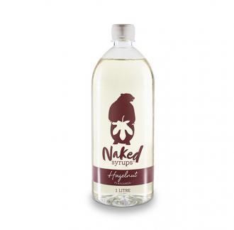Buy Hazelnut Flavouring 1 LTR Syrup Online - Naked Syrup