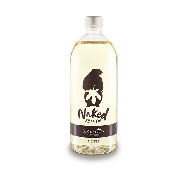 Buy Naked Syrups Vanilla Flavouring 1 LTR Online
