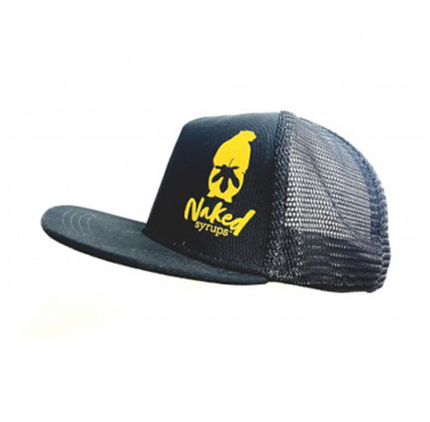 Buy Naked Syrups Black Snap Back Trucker Cap Online